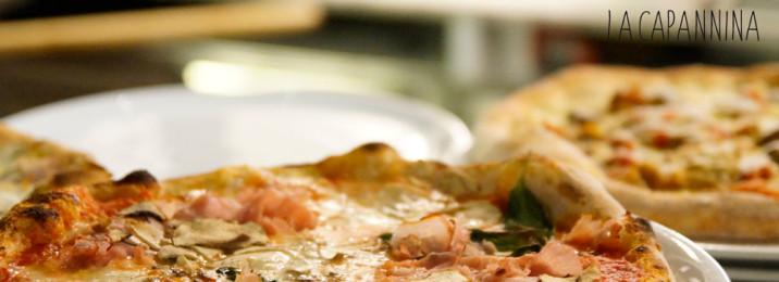 Vera pizza napoletana alla Capannina Ristorante Pizzeria Torino