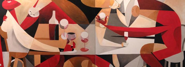 Riccardo Guasco alla Capannina ristorante pizzeria - via Donati, 1 - 10121 - torino