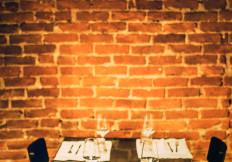 Il caratteristico tavolo 15 alla Capannina - Ristoranti torino