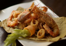 Tempura di gamberi e calamari alla Capannina - Ristoranti Pizzerie Torino