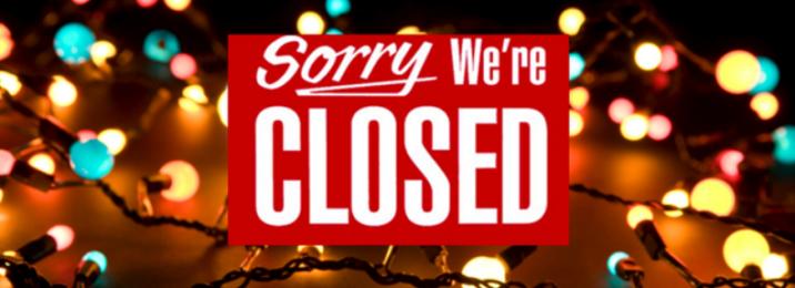 chiusura natalizia Capannina ristorante pizzeria torino